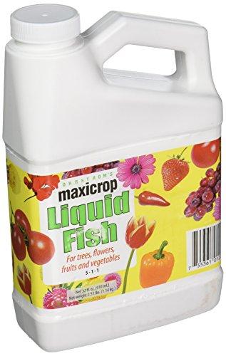 Maxicrop MCFISHQT qt Liquid Fish Fertilizer