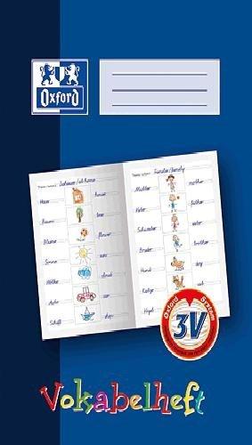 Oxford 311401625/100057954 Vokabelheft, A4, 16 Blatt, dunkelblau