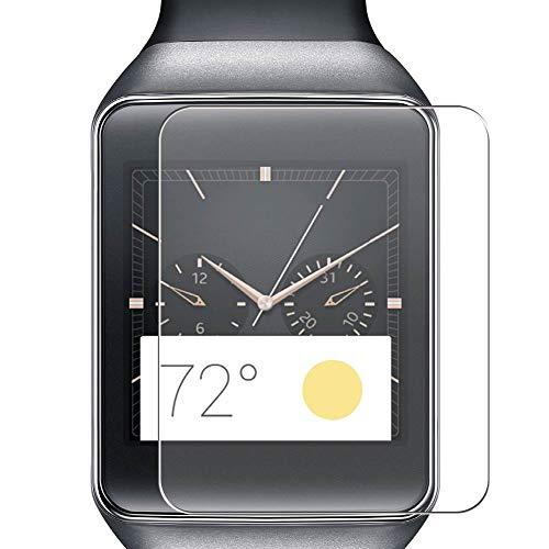 Vaxson 4 Stück Schutzfolie, kompatibel mit Samsung Gear Live, Bildschirmschutzfolie TPU Folie [nicht Panzerglas]