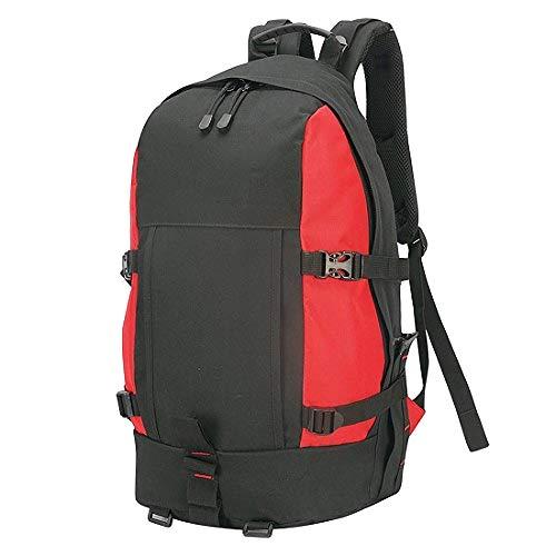 Shugon Gran Paradiso 35 - Sac de randonnée - 35 litres (Taille unique) (Noir/Rouge)