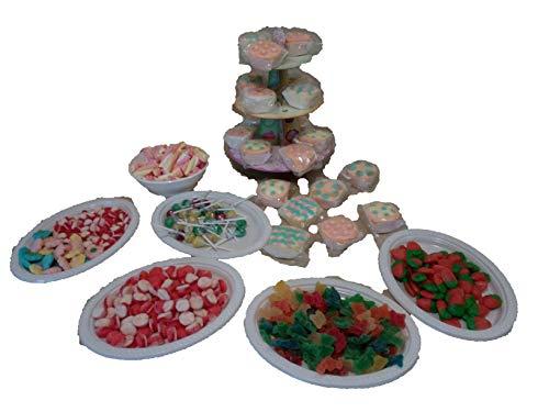 ALMACENESADAN 9974, Candy Bar, Tavolo Dolce, 3300 Grammi.