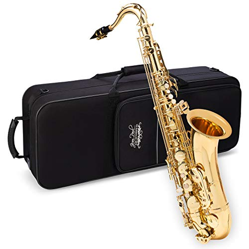 Jean Paul USA Tenor Saxophone, Gold (TS-400GP)