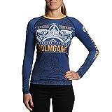 Hardcore Training Rash Guard For Women Holmgang - Viking - Yoga Fitness Gym Sport -m Mujer...