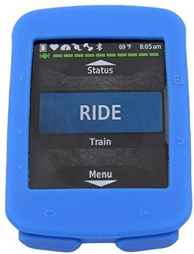 QQY Garmin 520 Funda para Garmin Edge 520 Funda Protectora de Silicona Funda para Garmin Edge 520 GPS Bike Computer, color azul