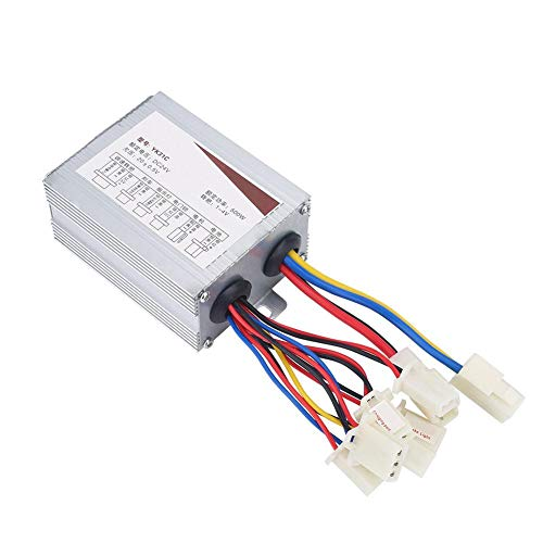 DC Motor Speed Controller, 24V 500W Motor Brush Controller for Electric Bicycle Scooter E-Bike