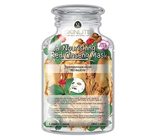 Skinlite Vital Nourishing Red Ginseng Mask (10 pcs)
