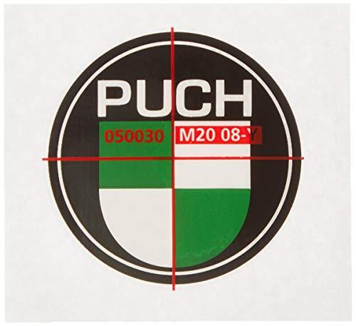 Sticker/Plakette Puch (grün/weiß)