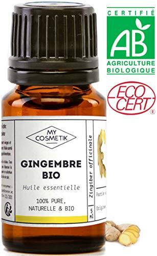 Etherische olie van Gember BIO - MyCosmetik - 30 ml