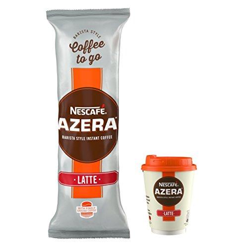 NESCAFÉ AZERA Coffee To Go Latte, 6 x 22.5 g Cups