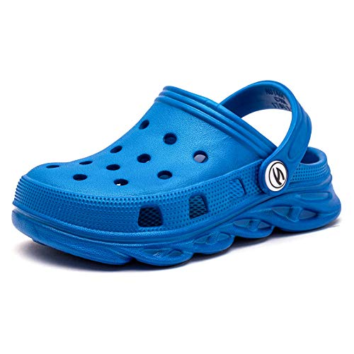 Toddler//Little Kid//Big Kid SEMARY Boys and Girls Garden Clogs Outdoor Beach Sandals Quick Dry Slip on Breathable Sneakers Unisex Kids Water Shoe