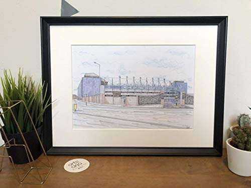 Everton FC - Goodison Park Stadium - Toffees - The Peoples Club - Print - Wall Art - Premier League - Football Art - Footy Fans - Poster