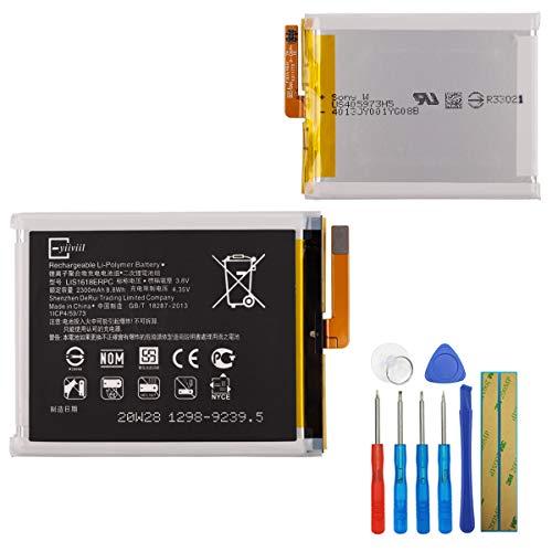 Batería de polímero de litio LIS1618ERPC compatible con Sony Ericsson Xperia E5 F3311 F3313 1298-9239