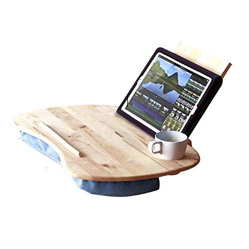 NBVCX Möbel Dekoration Home Beistelltische Massivholz Laptop Tisch Lazy Tisch Klappbarer Studententisch Schlafsofa mit kleinem Tisch Freizeit Tisch