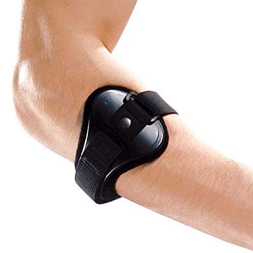 LP Support 551 Tennisarmspange - Tennisarmbandage - Sport-Bandage, Größe:XL, Farbe:schwarz