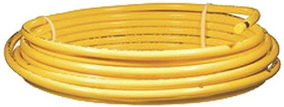Cupro DY06050 Polyethylene Coated Copper Tubing, Type R, Yellow, 3/8