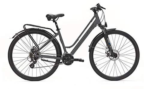 CLOOT Bicicleta hibrida Adventure Disc Shimano 24V con Horquilla Sontour Nex y Frenos de Disco, Bicicletas para Hombre y para Mujer. (Talla M (159-171))