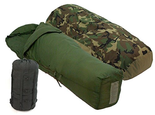 Tennier Industries U.S. Military MSS 3 PC: Gortex Bivy Cover, Patrol Bag, Stuff Sack