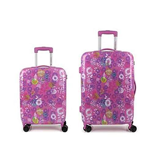 Gabol - Linda   Set de 2 Maletas trolleys Cabina y Mediana