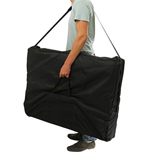 Vivezen ® Housse de transport noire pour table de massage - Norme CE