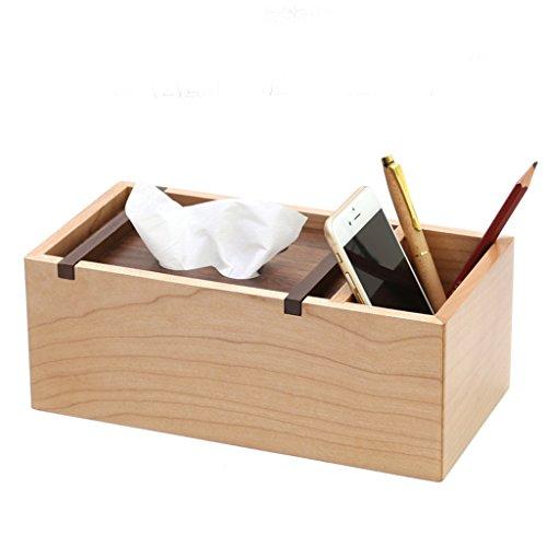 Boîte de rangement multifonctionnel Boîte de rangement à télécommande Boîte de tiroir de style européen (taille : Les petites)