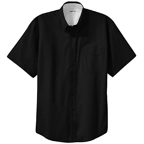 Educational Original Printed Short Sleeve Shirt Size XS-2XL Big,Black Chalkboard