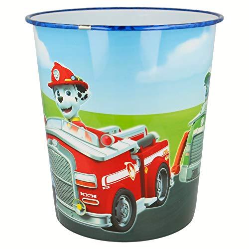 PAW PATROL - Papierkorb Mülleimer Abfalleimer Eimer Aufbewahrung Kinderzimmer