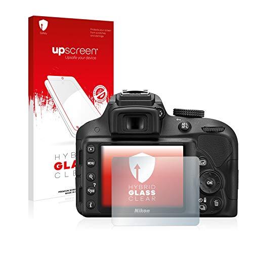 upscreen Protector Pantalla Cristal Templado Compatible con Nikon D3300 Hybrid Glass –...