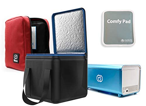 El kit Lifeina para viajar con la enfermedad de Crohn. Transporte sus...