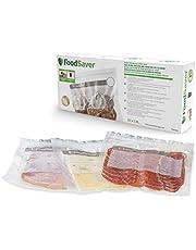 FoodSaver Herbruikbare vacuümzakken met ritssluiting, voor FoodSaver vacuümapparaten, BPA-vrij, 3,8 liter, 20 stuks