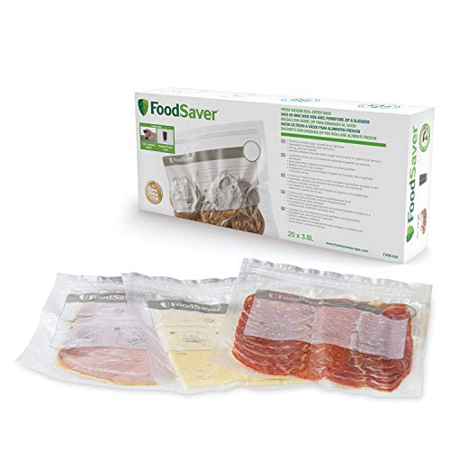 FoodSaver FVB016X-01 Bolsas, Clear