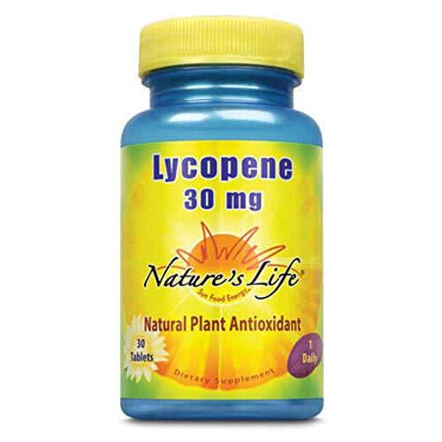 Nature's Life Lycopene 30 mg   30 ct