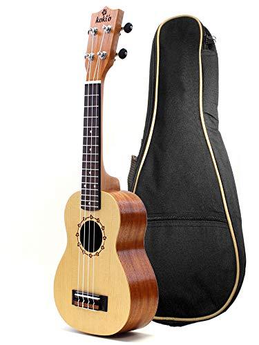 koki'o r Fichte Mahagoni Sopran-Gitarre