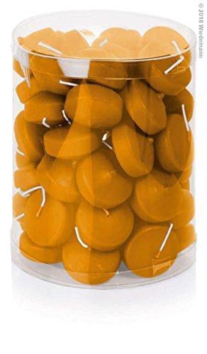 Bougies flottantes Lot de 50 48 mm (naturel)