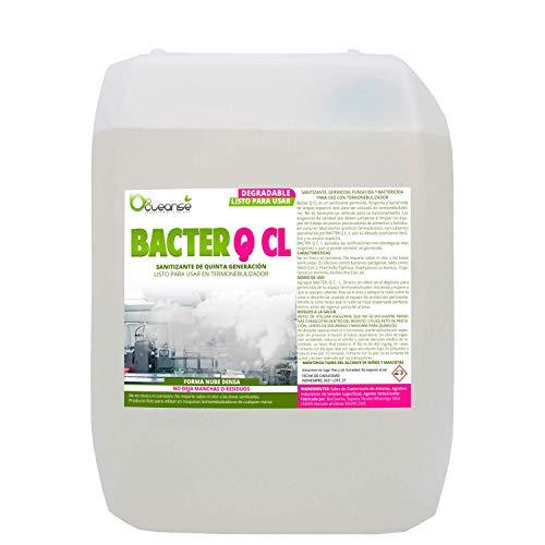 Líquido desinfectante para Termonebulizador LISTO para Usar Sanitizante de Quinta Generación 5 Lt