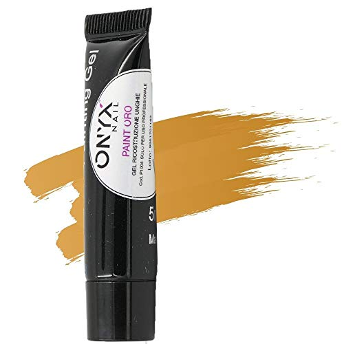 Onyxnail - gel uv paint oro 5 ml - p1004