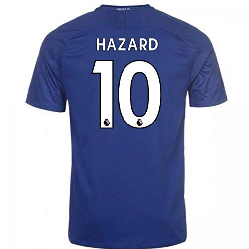 2017-18 Chelsea Home Football Soccer T-Shirt Trikot (Eden Hazard 10)