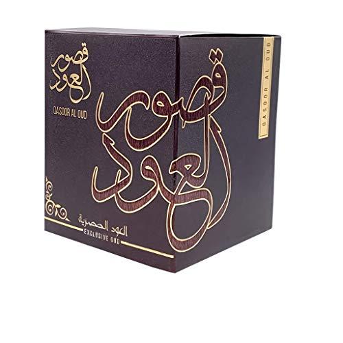 My perfumes Bakhoor qasoor al oud 50 gramos mejor fragancia auténtica de incienso oud woody hogar