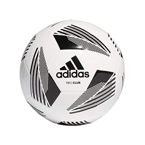 adidas Unisex– Erwachsene Tiro Club Fußball Ball, White/Black, 4