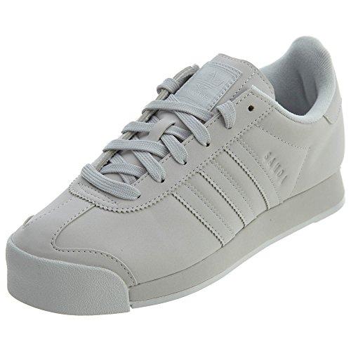 adidas Originals Women's Samoa + W Running Shoe, Grey ONE/Grey ONE/White, 6.5 Medium US