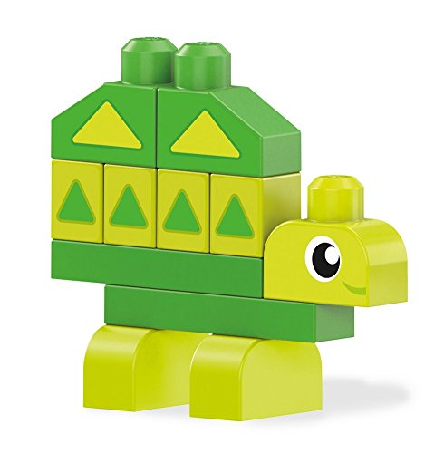 Mega Bloks DXH34 First Builders Learn My Shapes Playset