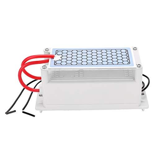 Generador de ozono ceramica portatil 5g /h,ozonizador de aire para hogar/domestico,purificador de...