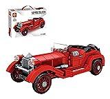 RSWLY Technics Classic Car Set Compatible con Lego Technic, 324pcs Technic Retro Vintage Model, Bloques de construcción para Adultos y niños