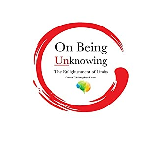 On Being Unknowing audiobook cover art