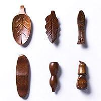 中華風和風ログ箸置き、スプーン置き、家族連れ、飲食店などに最適。