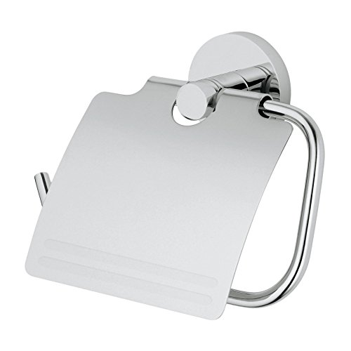 Top 10 best selling list for plaza euro toilet paper holder with cover