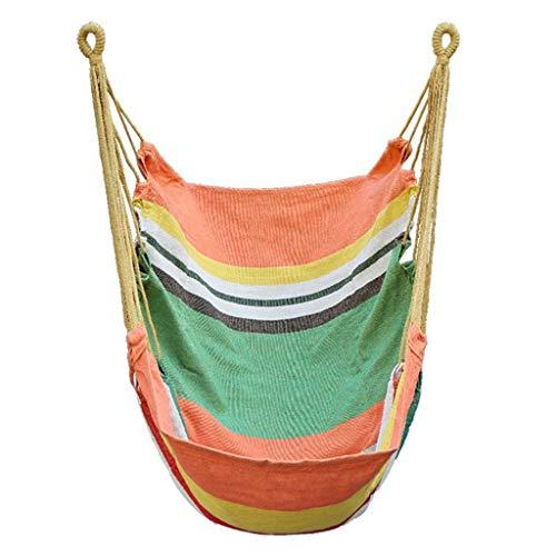 Balançoire Swing Hammock Single Mignon Single Swing suspendu Chaise suspendue Chaise longue et extérieure Hamac Hamall Pending Chaise longue 39.3x31.4 pouces Siege Suspendu