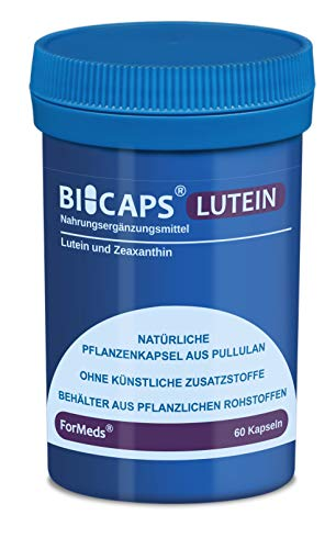 Formeds BICAPS LUTEIN Lutein - 20 mg Zeaxanthin - 2 mg, 60 Kapseln