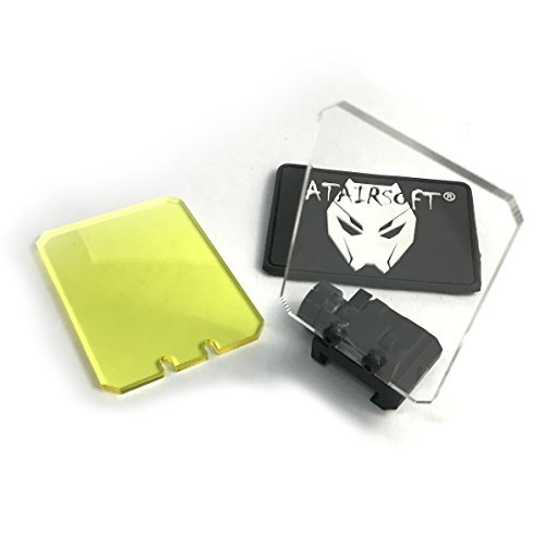 ATAIRSOFT Airsoft Dot Sight Reflex Scope Square Shape Screen Protector...