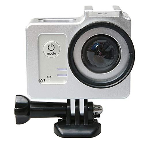 Profesional XIAODUAN Caso aleación de Aluminio Universal de protección con 40,5 mm Diámetro de la Lente y Protector de Lente de la cámara SJCAM SJ5000 y SJ5000 SJ5000X y WiFi Action Sport (Negro)