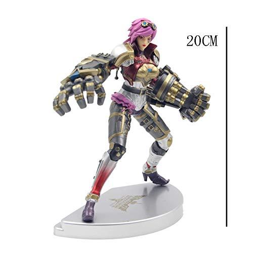 Estatua De Juguete Modelo De Juguete Regalo De Personaje De Dibujos Animados/Colección / 20CM SYFO: Amazon.es: Hogar